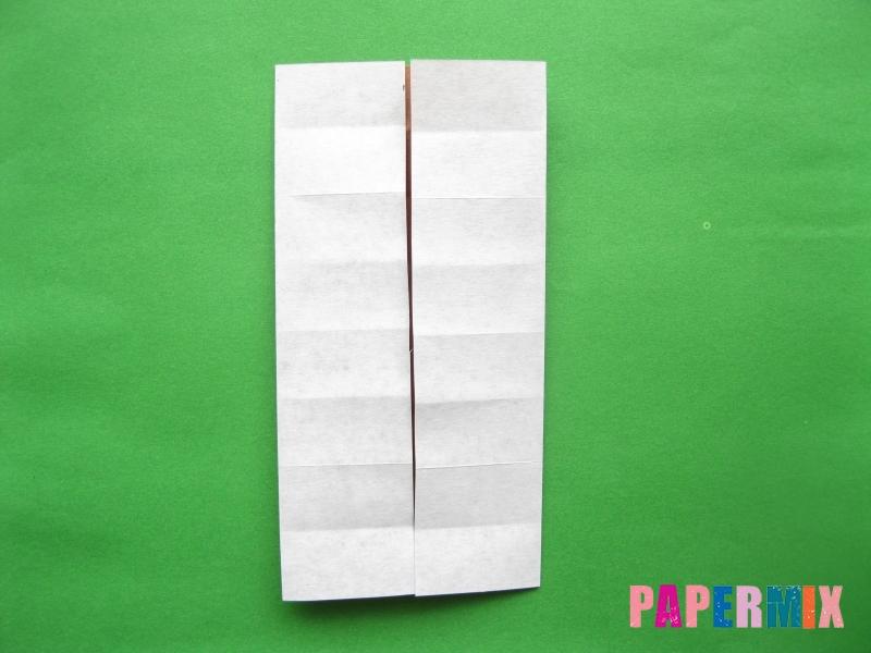 Как сделать цифру 3 из бумаги (оригами) своими руками - шаг 5
