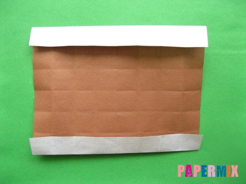 Как сделать цифру 3 из бумаги (оригами) своими руками - шаг 8
