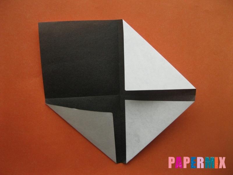 Как сделать цифру 4 из бумаги (оригами) своими руками - шаг 2