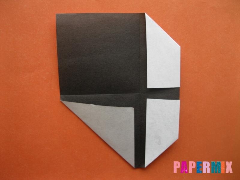 Как сделать цифру 4 из бумаги (оригами) своими руками - шаг 3