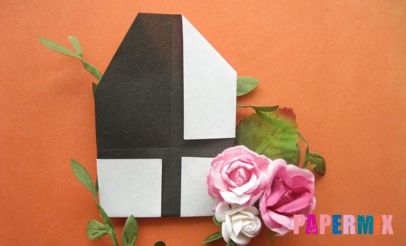 Как сделать цифру 4 из бумаги в технике оригами своими руками