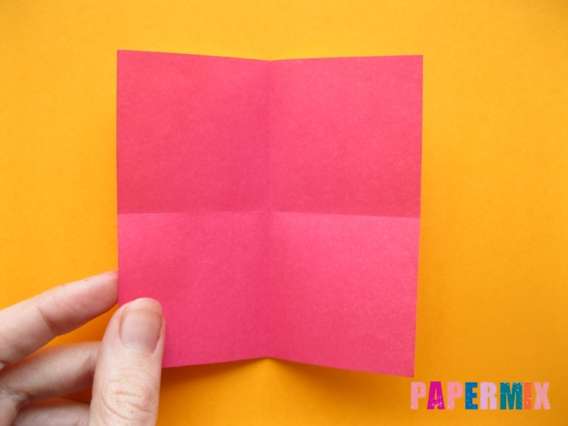 Как сделать цифру 5 из бумаги (оригами) своими руками - шаг 1
