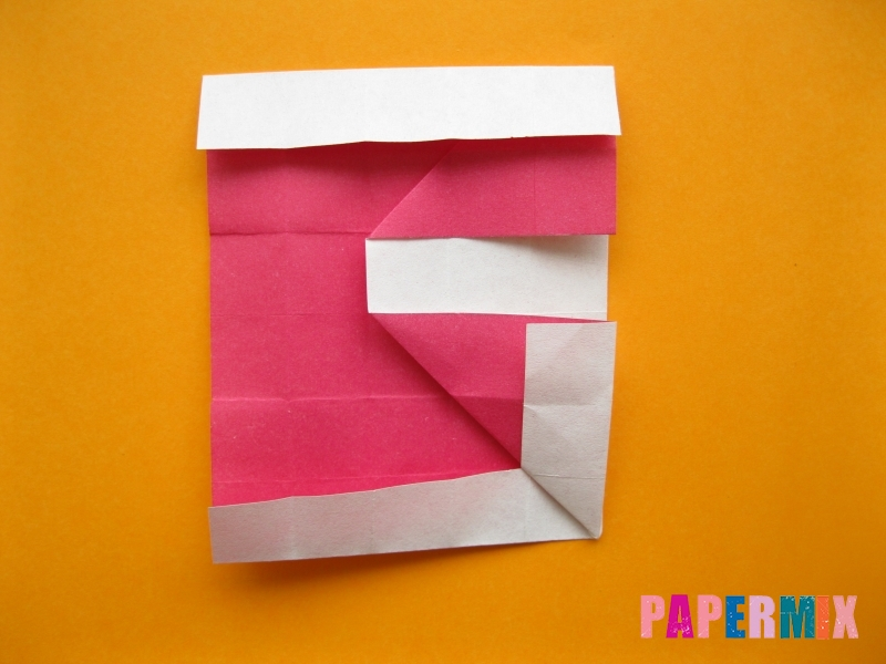 Как сделать цифру 5 из бумаги (оригами) своими руками - шаг 11