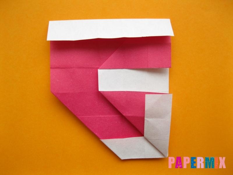 Как сделать цифру 5 из бумаги (оригами) своими руками - шаг 12