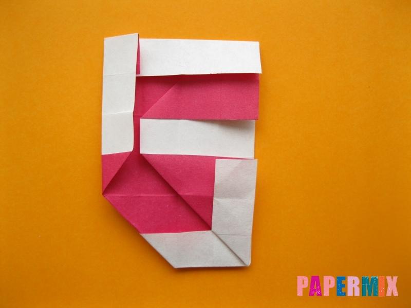Как сделать цифру 5 из бумаги (оригами) своими руками - шаг 13