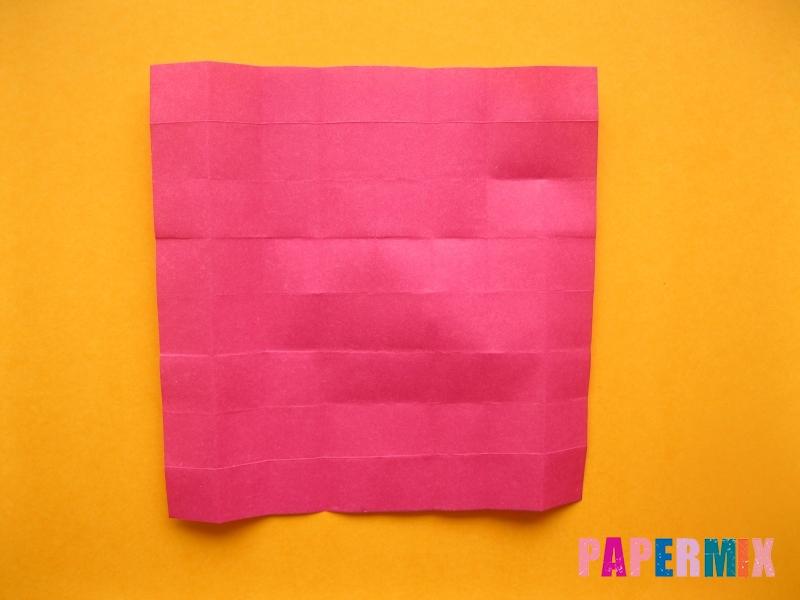 Как сделать цифру 5 из бумаги (оригами) своими руками - шаг 7