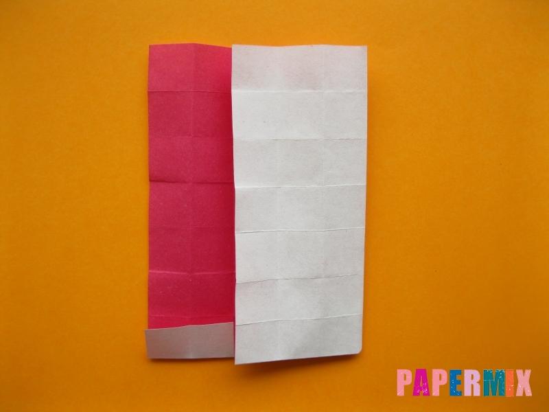 Как сделать цифру 5 из бумаги (оригами) своими руками - шаг 9