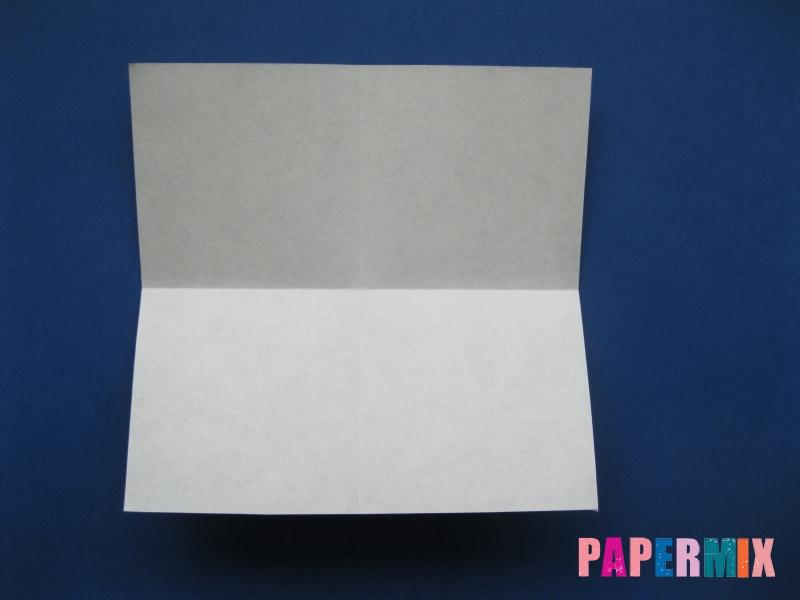 Как сделать цифру 6 из бумаги (оригами) своими руками - шаг 1