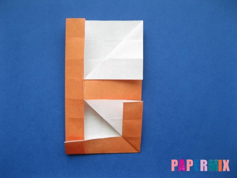 Как сделать цифру 6 из бумаги (оригами) своими руками - шаг 12