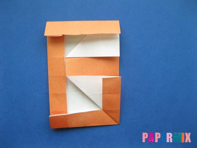Как сделать цифру 6 из бумаги (оригами) своими руками - шаг 13