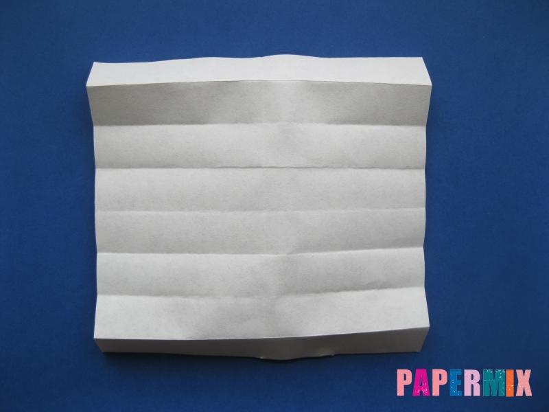 Как сделать цифру 6 из бумаги (оригами) своими руками - шаг 4