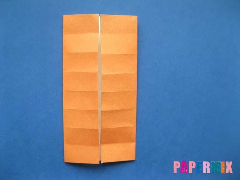Как сделать цифру 6 из бумаги (оригами) своими руками - шаг 5