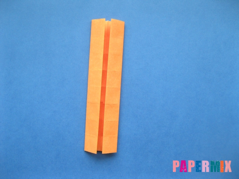 Как сделать цифру 6 из бумаги (оригами) своими руками - шаг 6