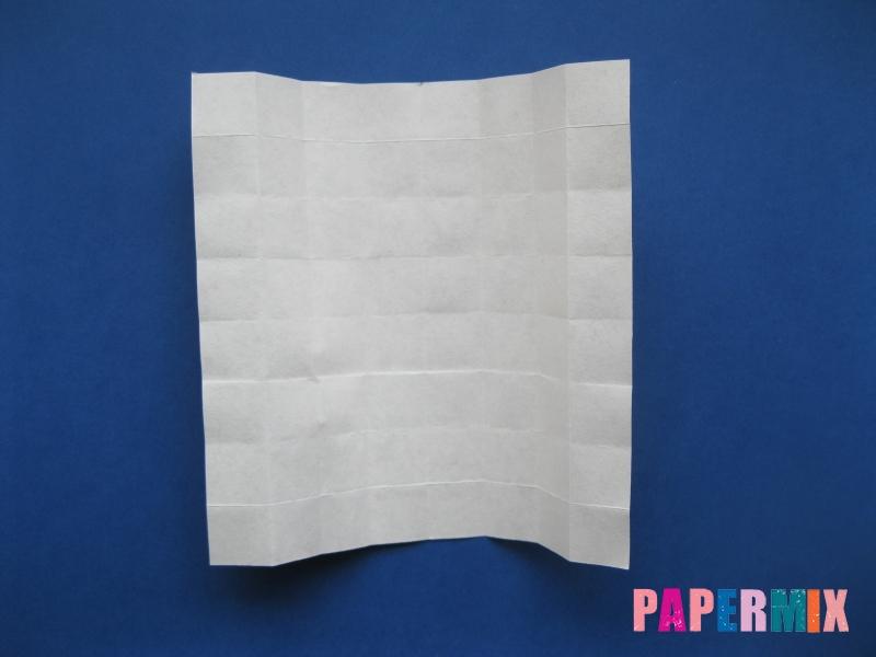 Как сделать цифру 6 из бумаги (оригами) своими руками - шаг 7