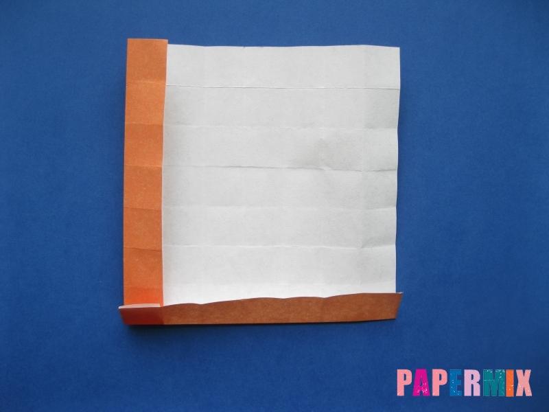 Как сделать цифру 6 из бумаги (оригами) своими руками - шаг 9