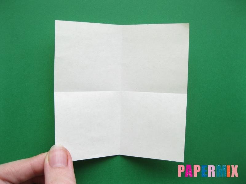 Как сделать цифру 7 из бумаги (оригами) своими руками - шаг 1