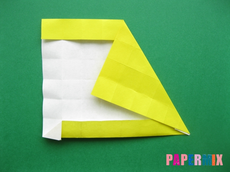 Как сделать цифру 7 из бумаги (оригами) своими руками - шаг 10