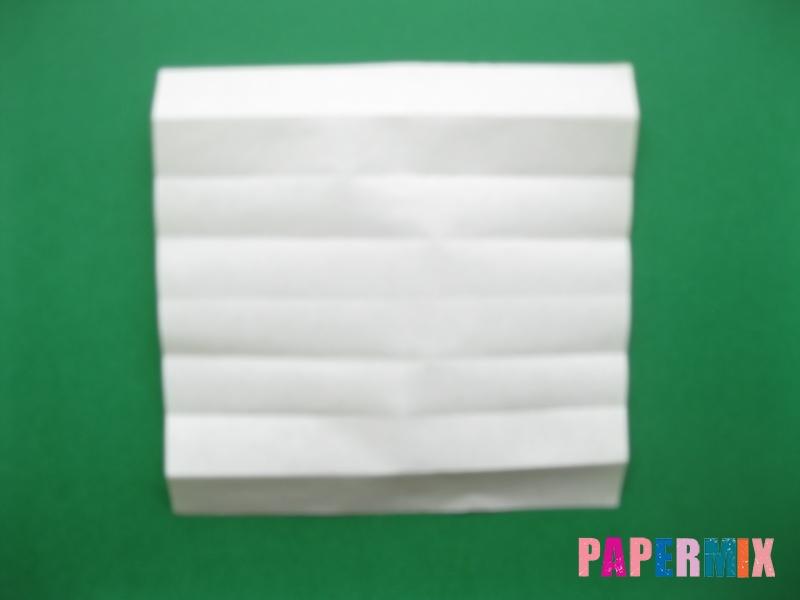 Как сделать цифру 7 из бумаги (оригами) своими руками - шаг 4