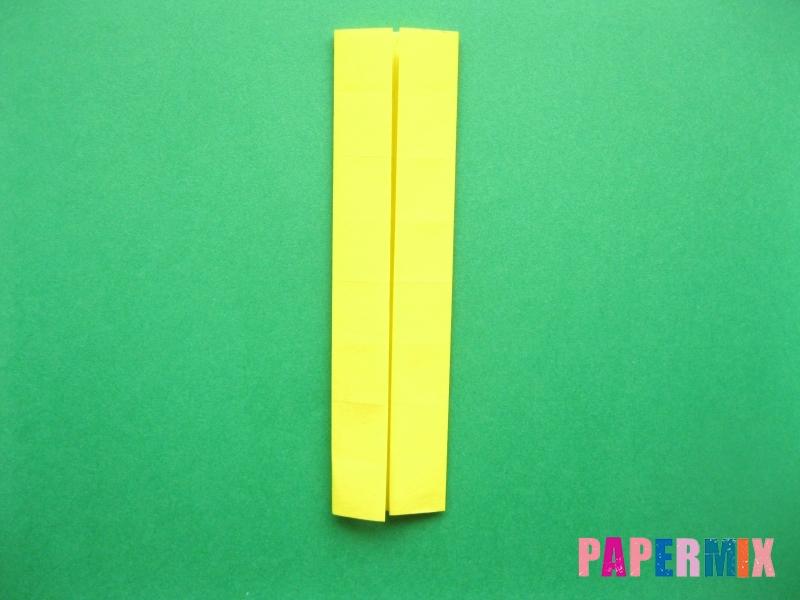 Как сделать цифру 7 из бумаги (оригами) своими руками - шаг 6
