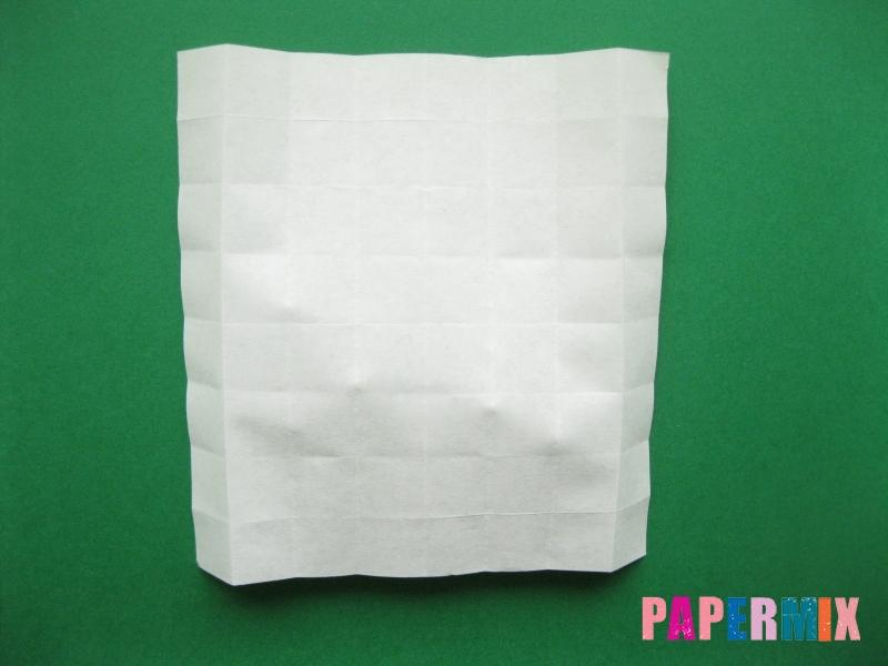 Как сделать цифру 7 из бумаги (оригами) своими руками - шаг 7