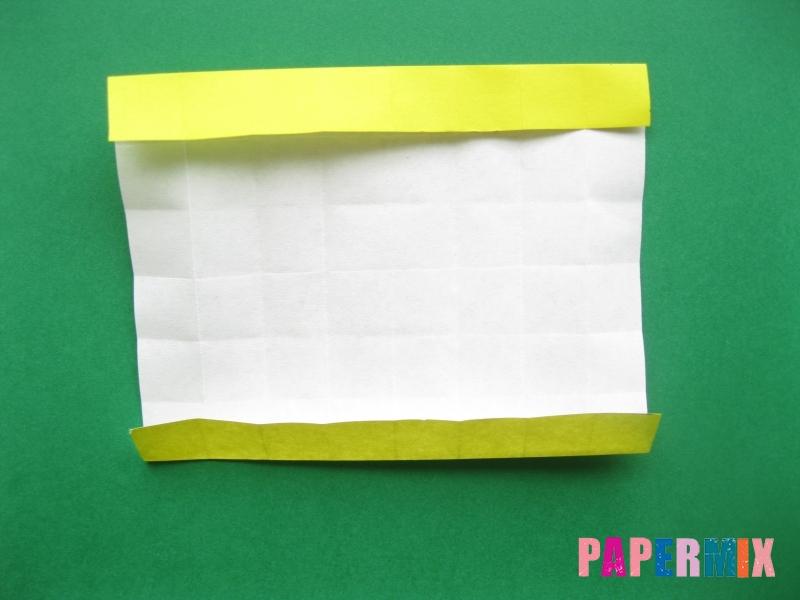 Как сделать цифру 7 из бумаги (оригами) своими руками - шаг 8