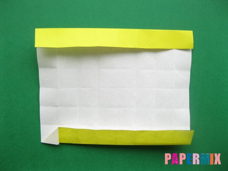 Как сделать цифру 7 из бумаги (оригами) своими руками - шаг 9