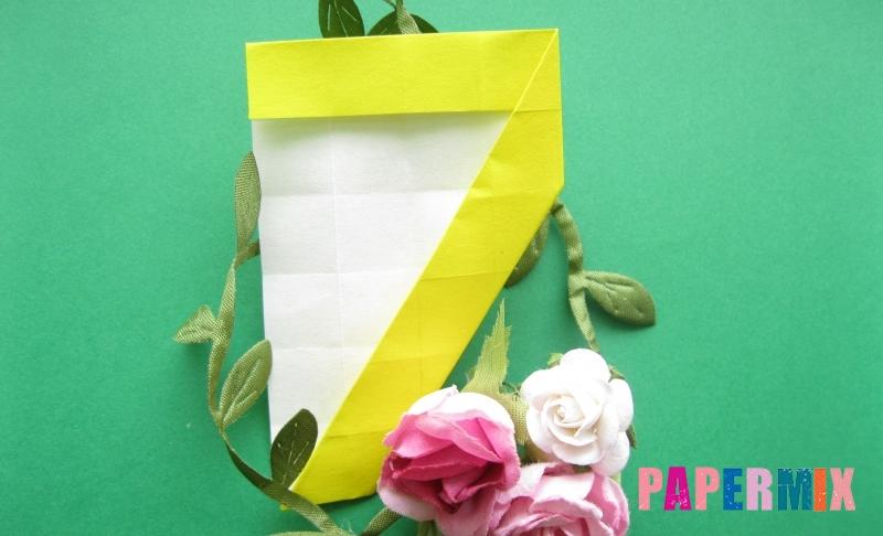 Как сделать цифру 7 из бумаги в технике оригами своими руками