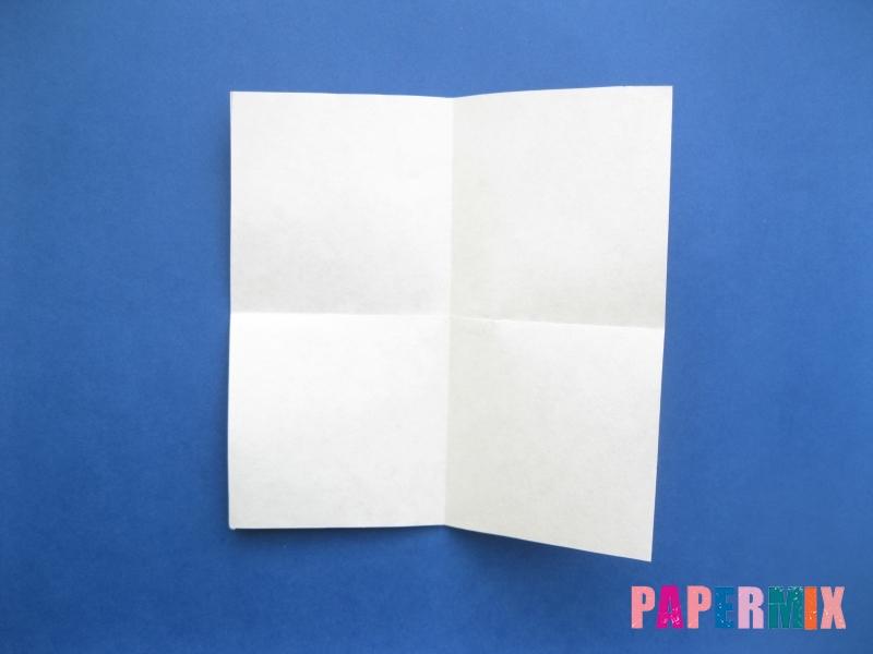 Как сделать цифру 8 из бумаги (оригами) своими руками - шаг 1