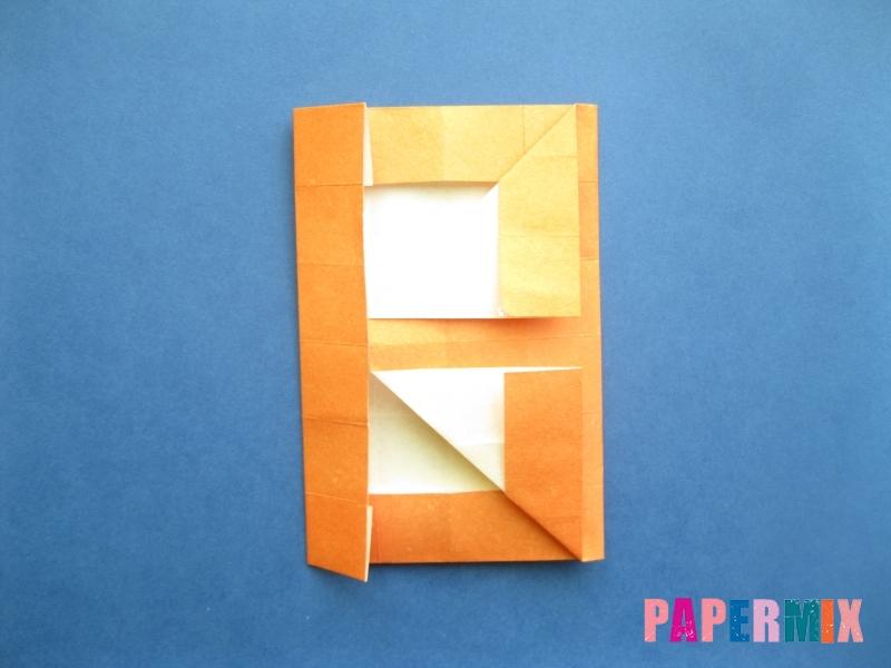 Как сделать цифру 8 из бумаги (оригами) своими руками - шаг 13