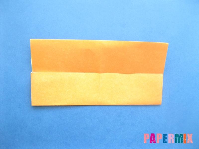 Как сделать цифру 8 из бумаги (оригами) своими руками - шаг 2