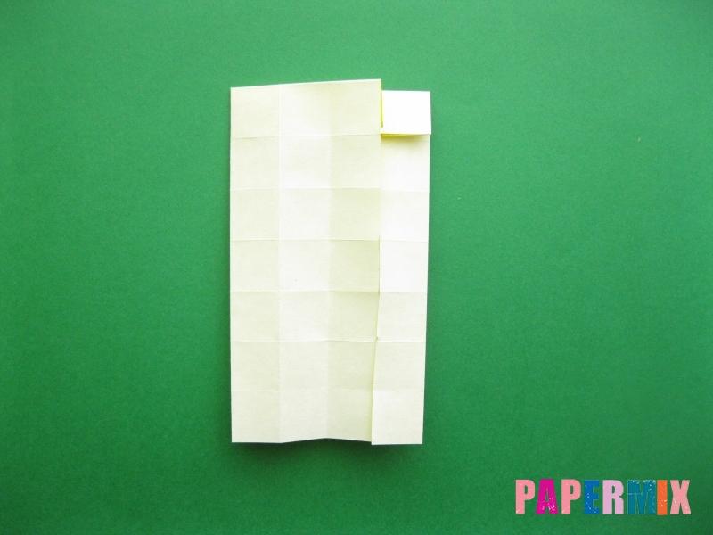 Как сделать цифру 9 из бумаги (оригами) своими руками - шаг 10