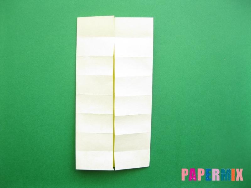 Как сделать цифру 9 из бумаги (оригами) своими руками - шаг 5