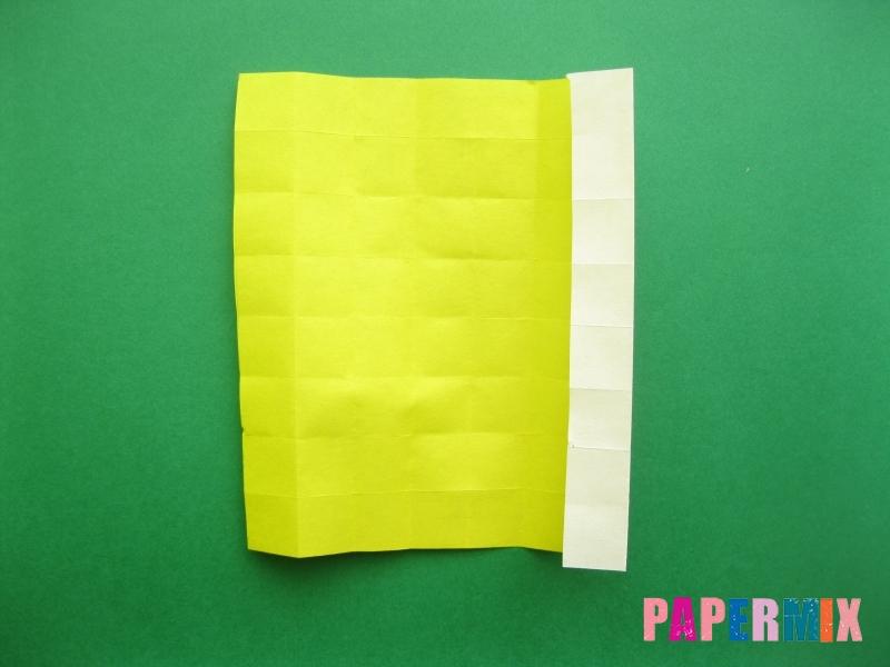 Как сделать цифру 9 из бумаги (оригами) своими руками - шаг 8