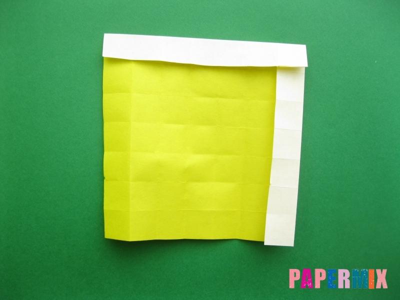Как сделать цифру 9 из бумаги (оригами) своими руками - шаг 9