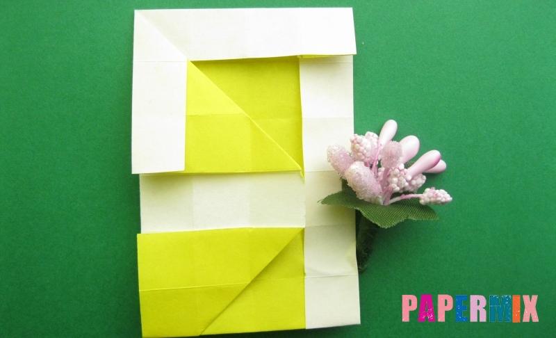 Как сделать цифру 9 из бумаги в технике оригами своими руками