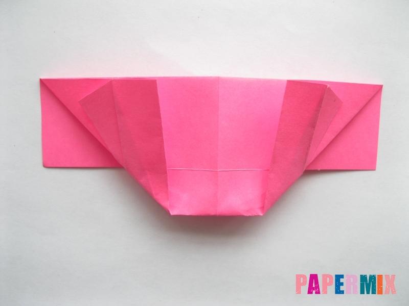 Как сделать диван из бумаги (оригами) поэтапно - шаг 10