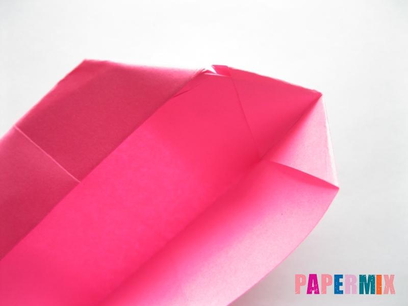 Как сделать диван из бумаги (оригами) поэтапно - шаг 14