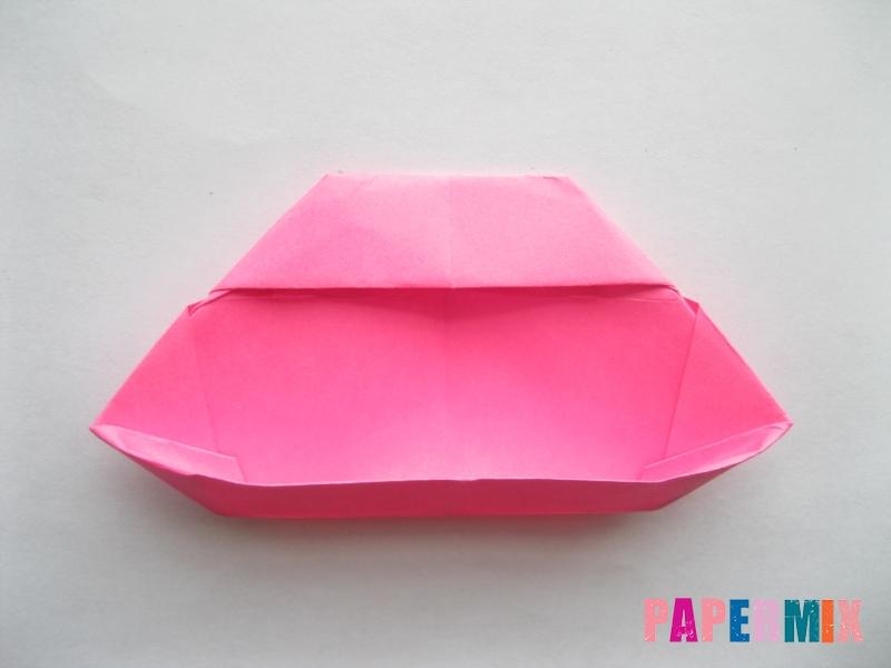 Как сделать диван из бумаги (оригами) поэтапно - шаг 16