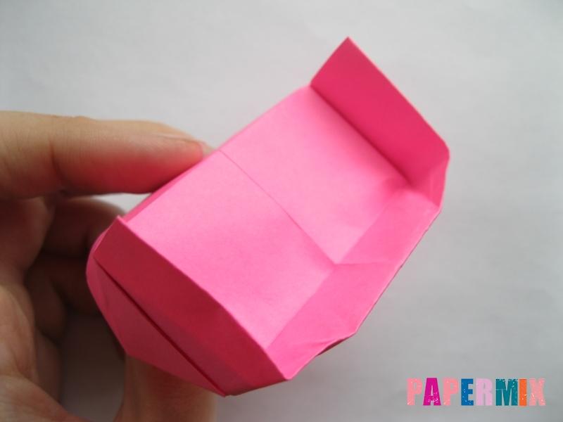 Как сделать диван из бумаги (оригами) поэтапно - шаг 17