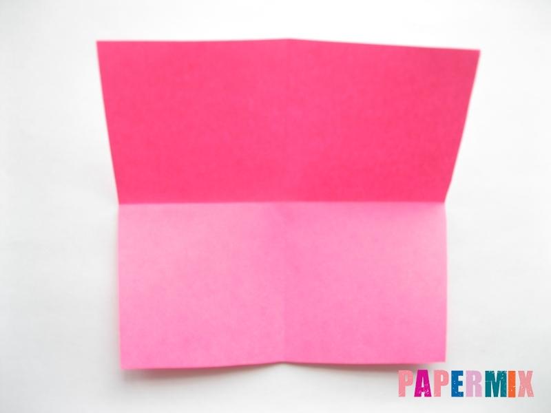 Как сделать диван из бумаги (оригами) поэтапно - шаг 2