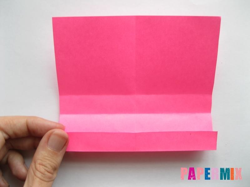 Как сделать диван из бумаги (оригами) поэтапно - шаг 5