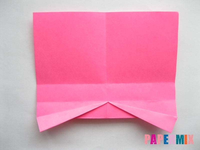 Как сделать диван из бумаги (оригами) поэтапно - шаг 6