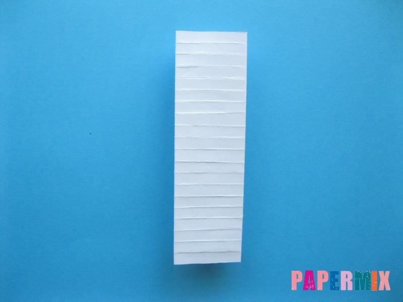 Как сделать галстук бабочку из бумаги своими руками - шаг 11