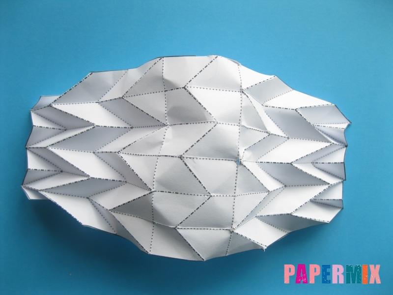 Как сделать галстук бабочку из бумаги своими руками - шаг 6