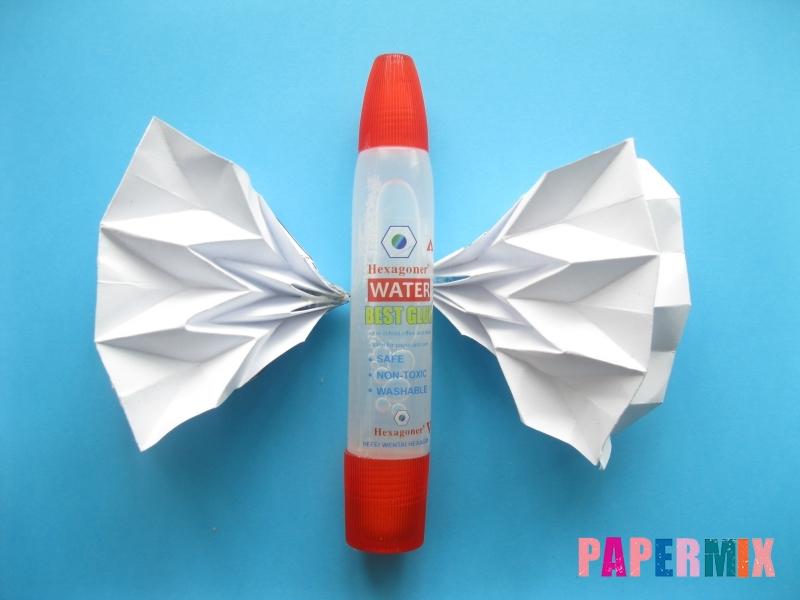 Как сделать галстук бабочку из бумаги своими руками - шаг 7