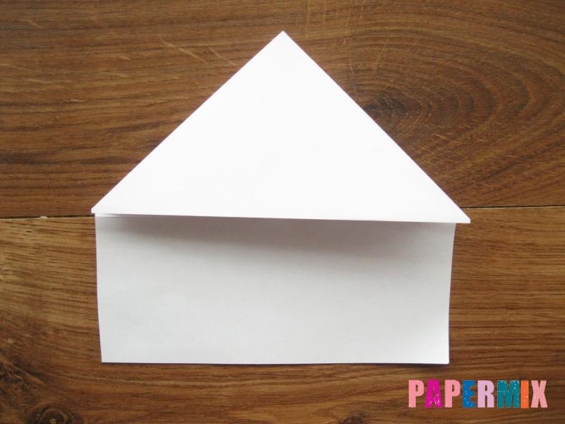 Как сделать кепку с козырьком из бумаги своими руками - шаг 10