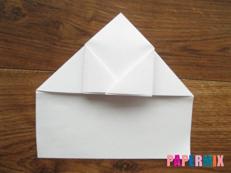 Как сделать кепку с козырьком из бумаги своими руками - шаг 11