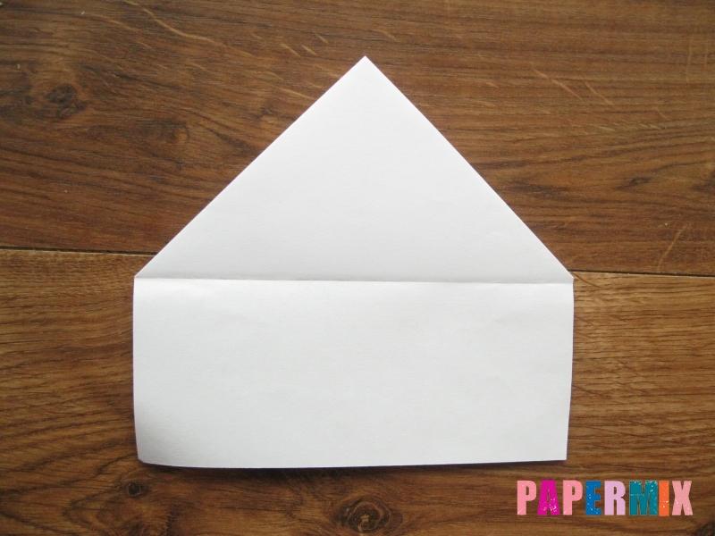 Как сделать кепку с козырьком из бумаги своими руками - шаг 12