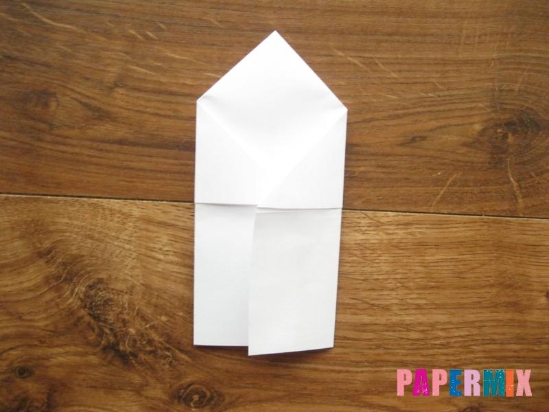 Как сделать кепку с козырьком из бумаги своими руками - шаг 14
