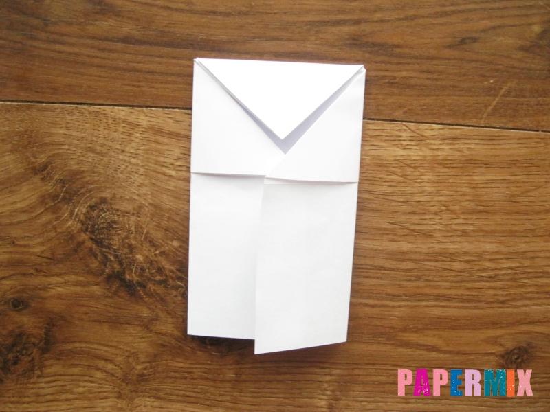 Как сделать кепку с козырьком из бумаги своими руками - шаг 15